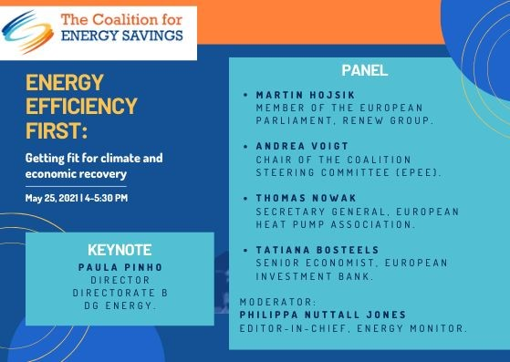 EPEE DG speaks at Coalition for Energy Savings event